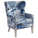 Barclay Butera Barclay Butera Upholstery Avery Wing Chair - Item Number: 5530-11AA