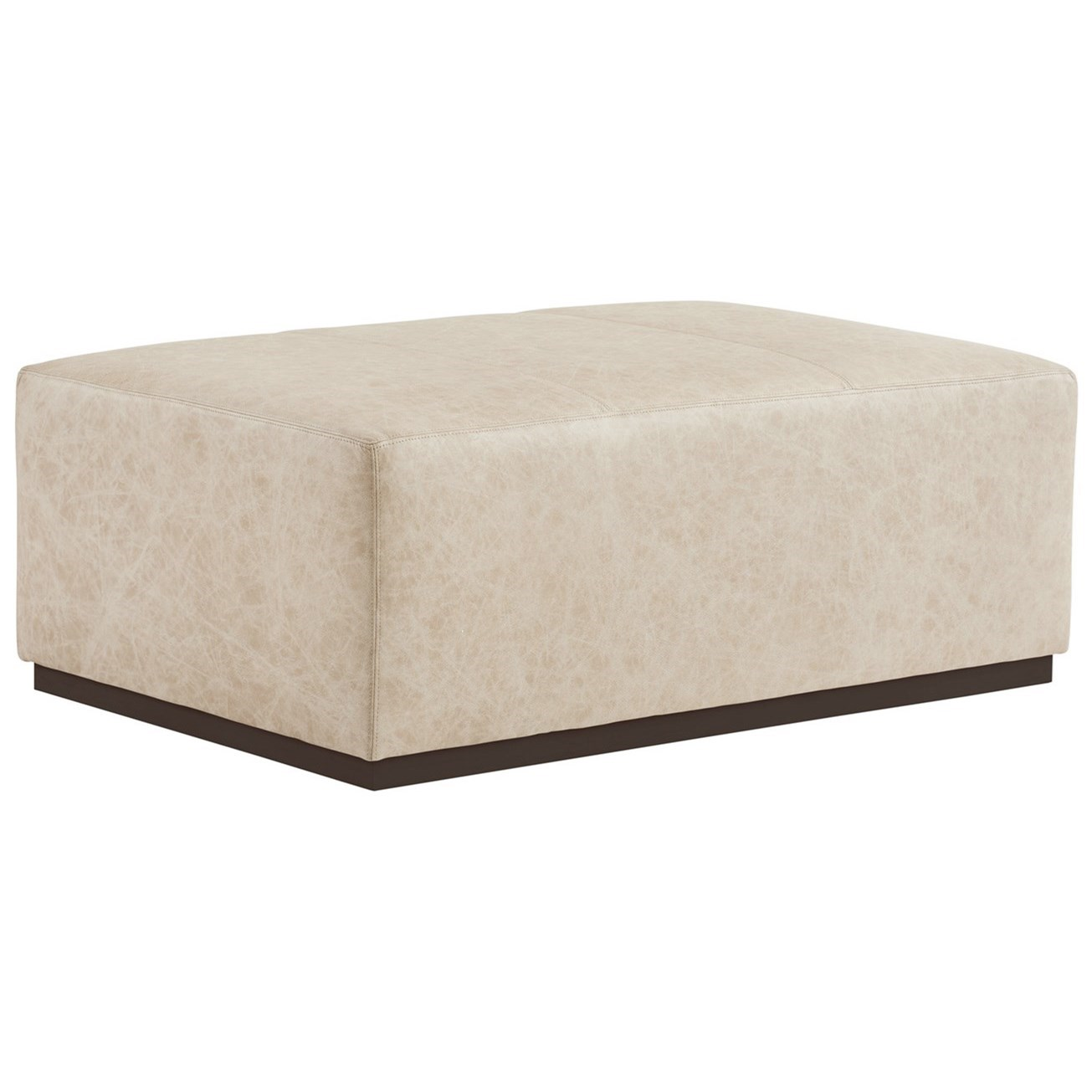 Barclay Butera Upholstery Sterling Cocktail Ottoman by Barclay Butera at Baer's Furniture