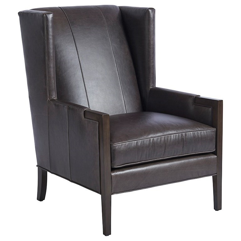 Barclay Butera Upholstery Stratton Wing Chair by Barclay Butera at Baer's Furniture
