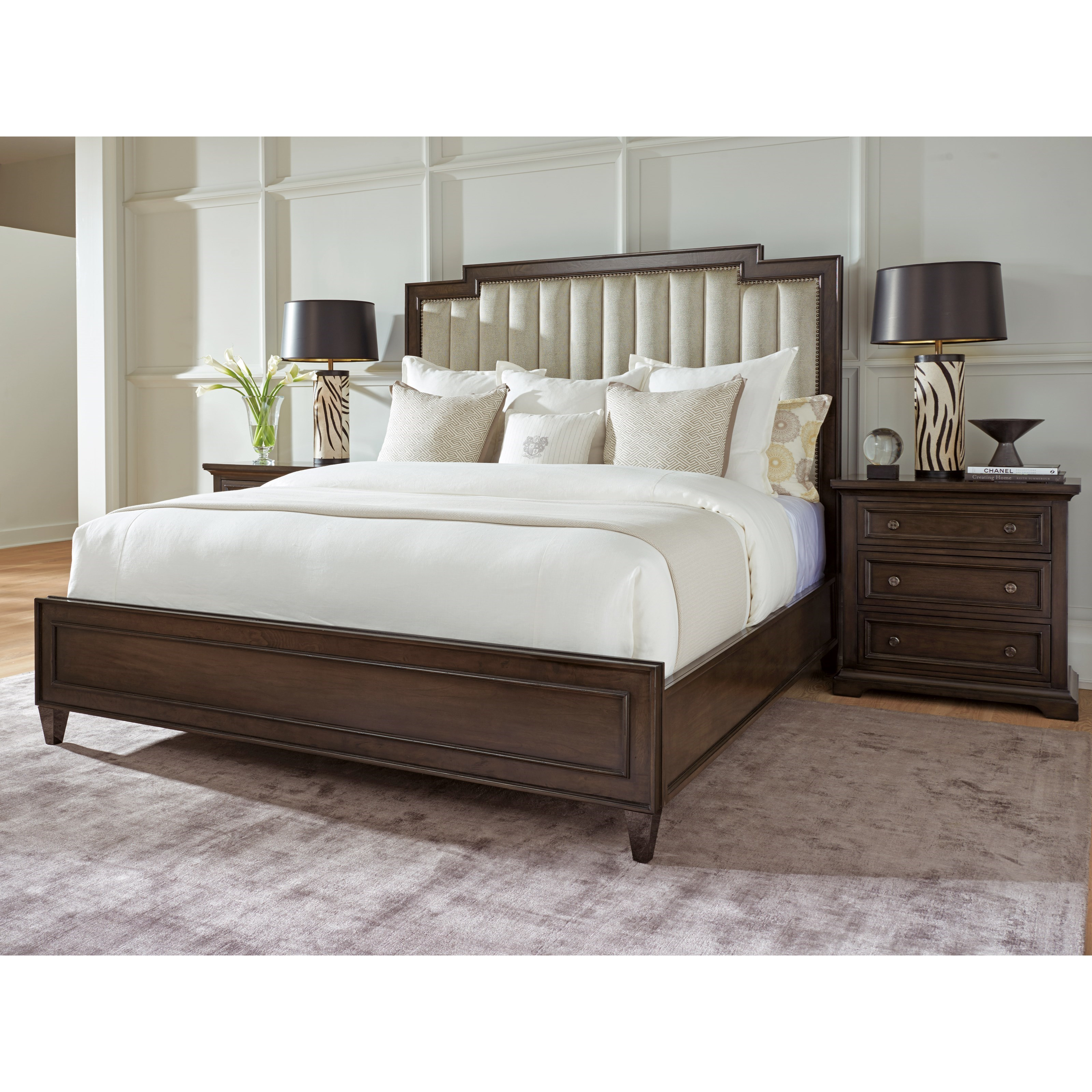 Brentwood King Bedroom Group by Barclay Butera at Baer's Furniture