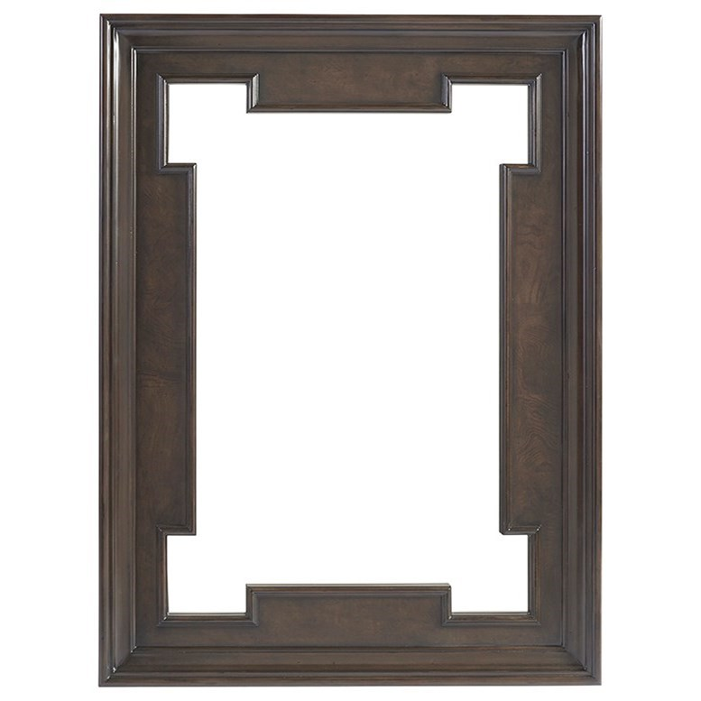 Brentwood Highwood Rectangular Mirror by Barclay Butera at Baer's Furniture