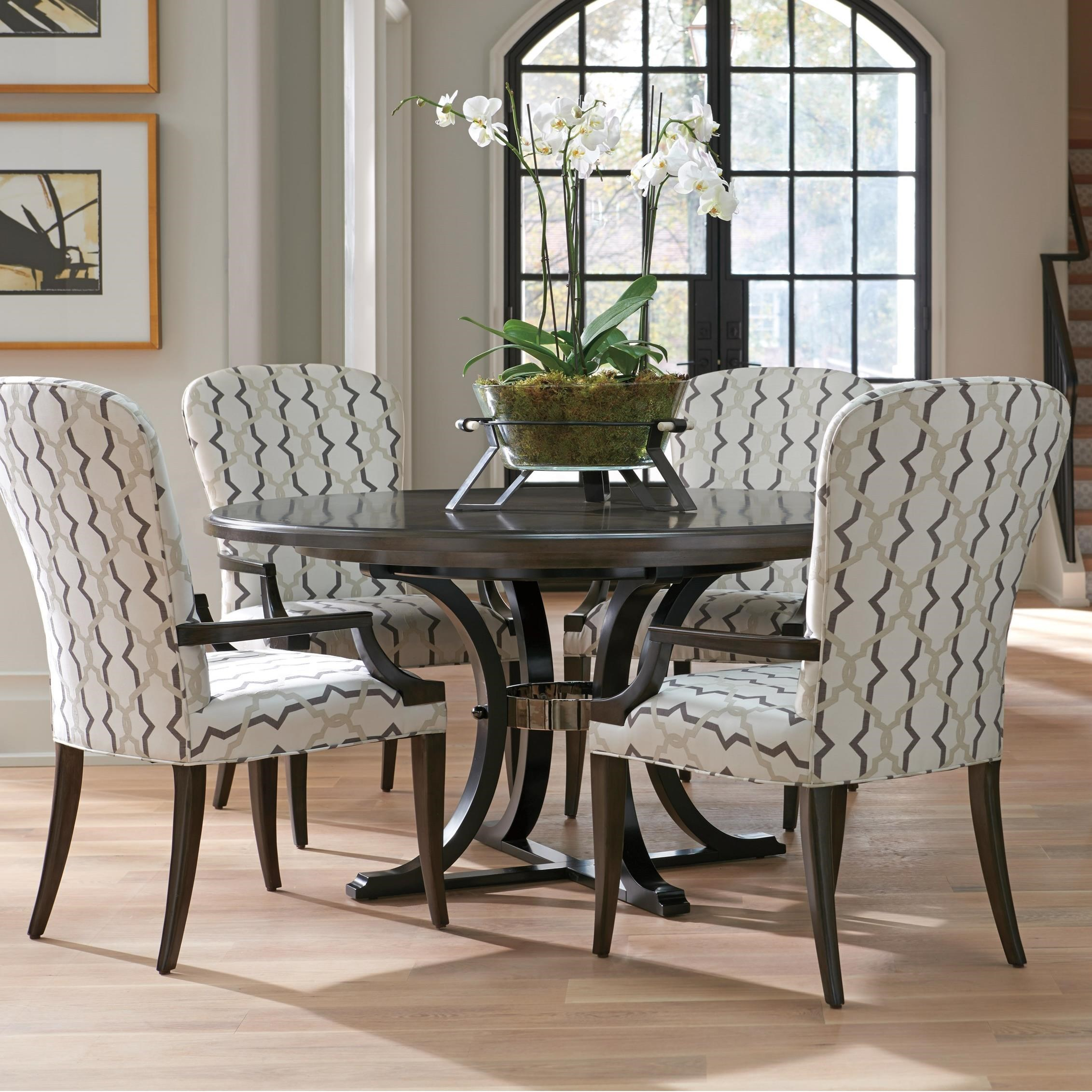 Brentwood 5 Pc Dining Set by Barclay Butera at Baer's Furniture