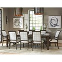 Barclay Butera Brentwood 9 Pc Dining Set - Item Number: 915-877+2X881+6X880