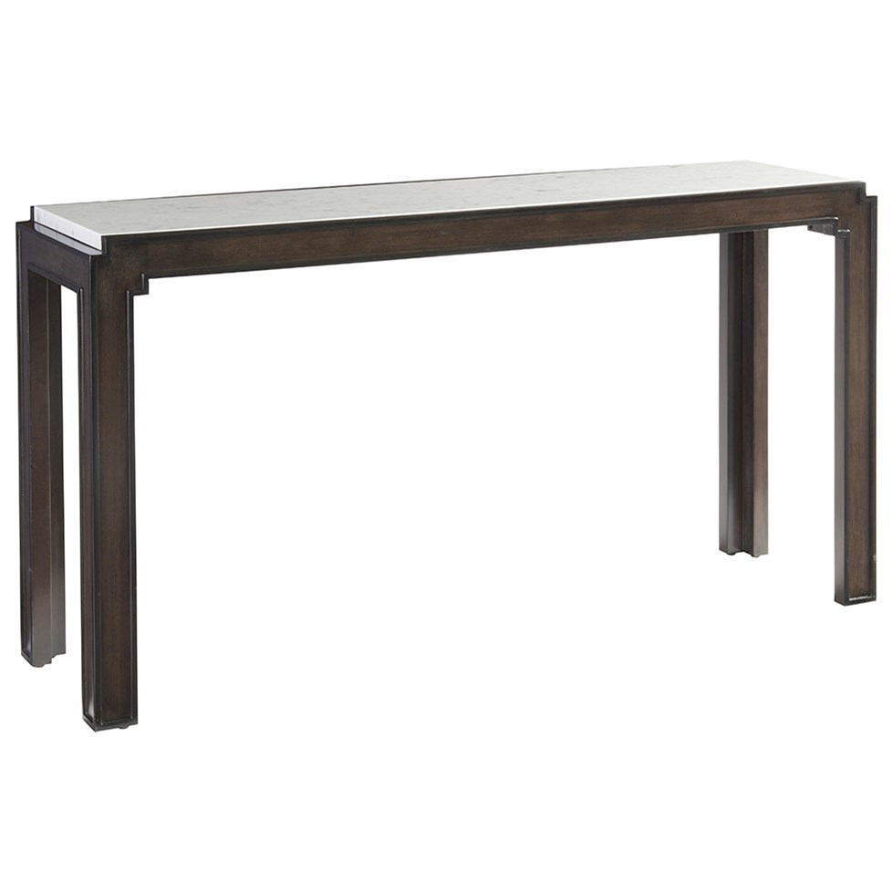 Brentwood Doheny Console Table by Barclay Butera at Baer's Furniture