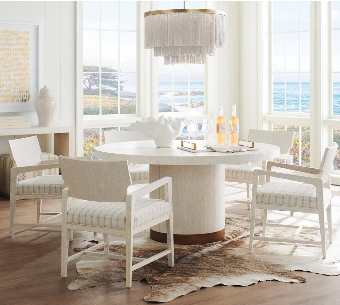 Carmel 6-Piece Dining Set by Barclay Butera at Baer's Furniture