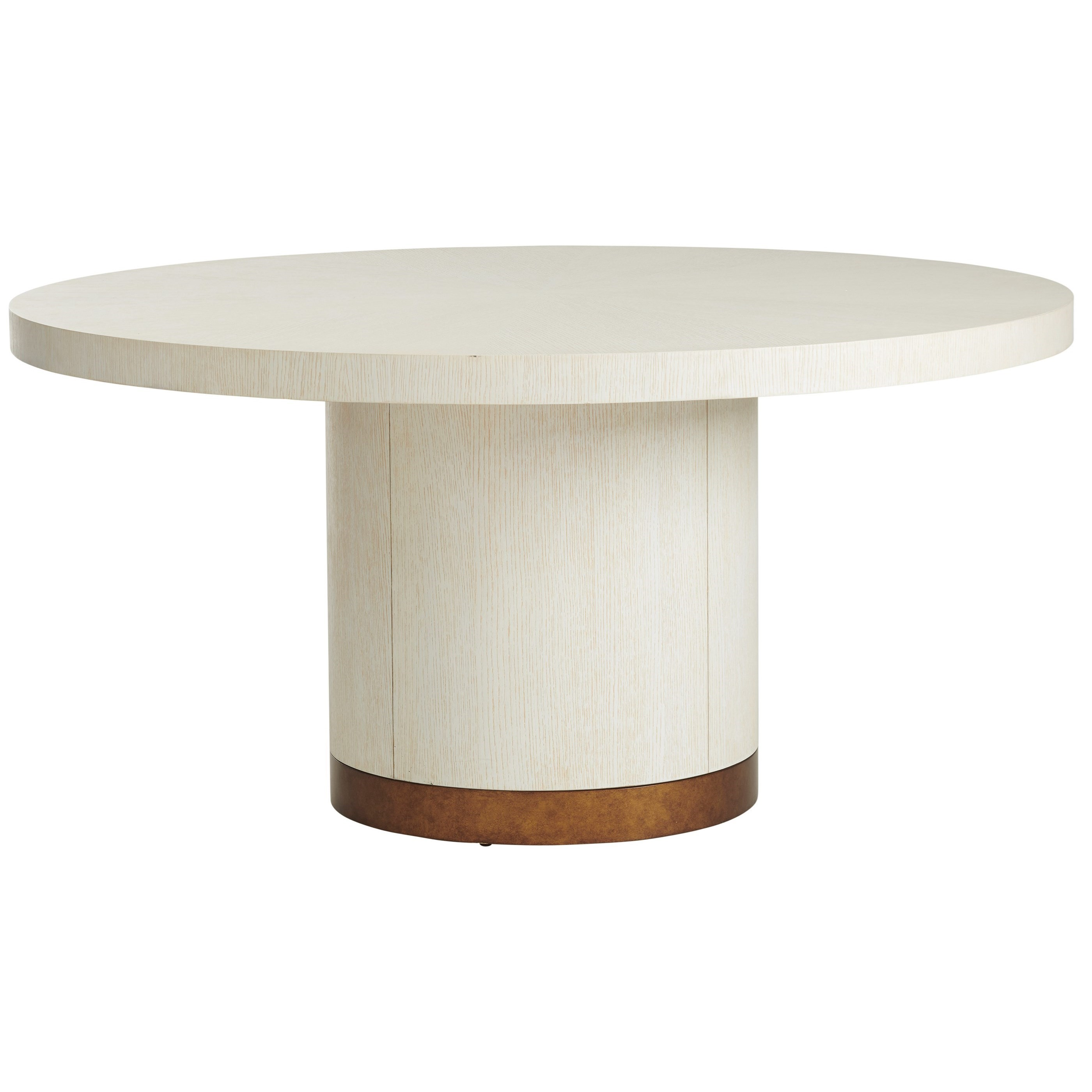 Carmel Selfridge Round Dining Table by Barclay Butera at Baer's Furniture