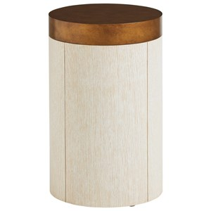 Crest Round End Table