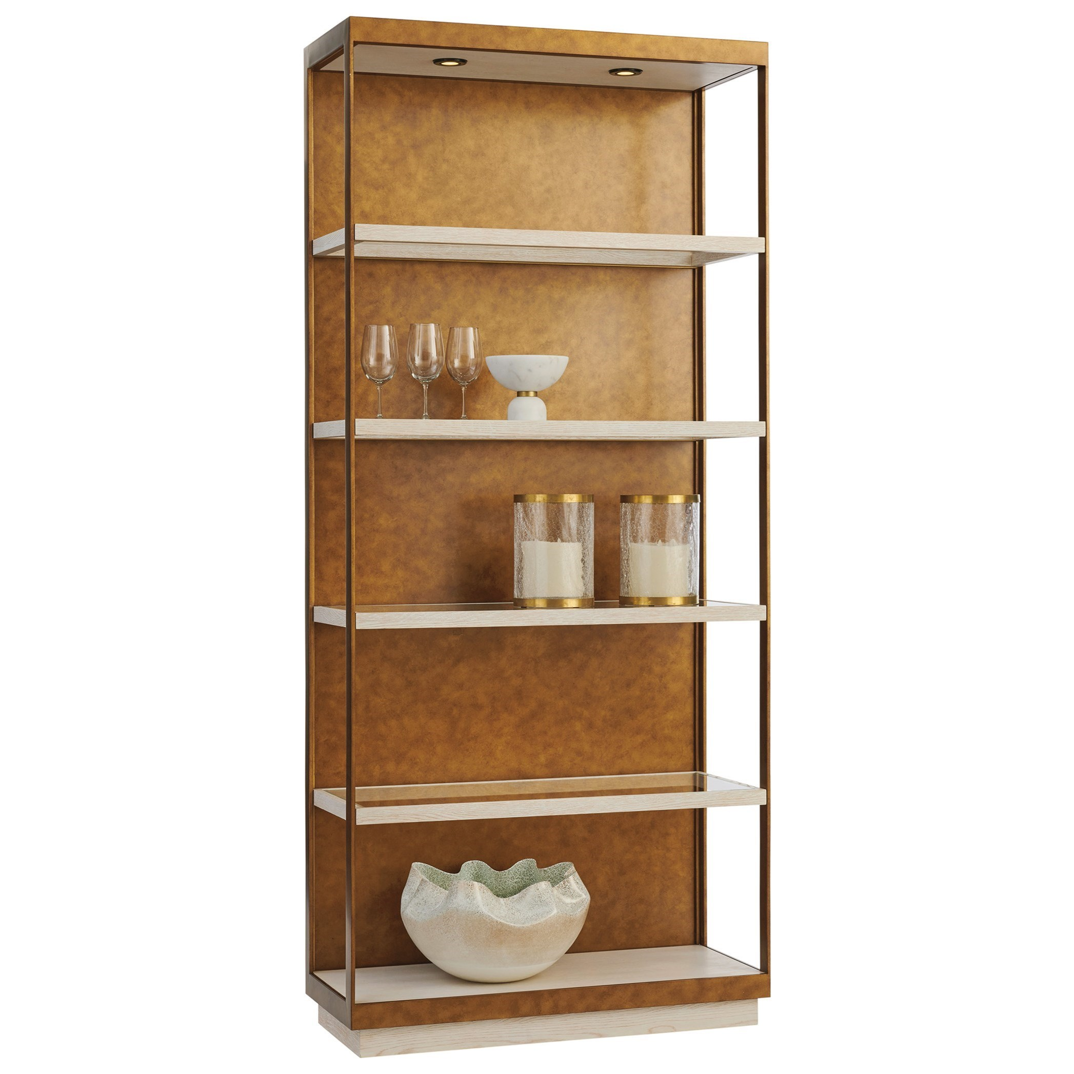 Carmel Whitman Etagere by Barclay Butera at Baer's Furniture