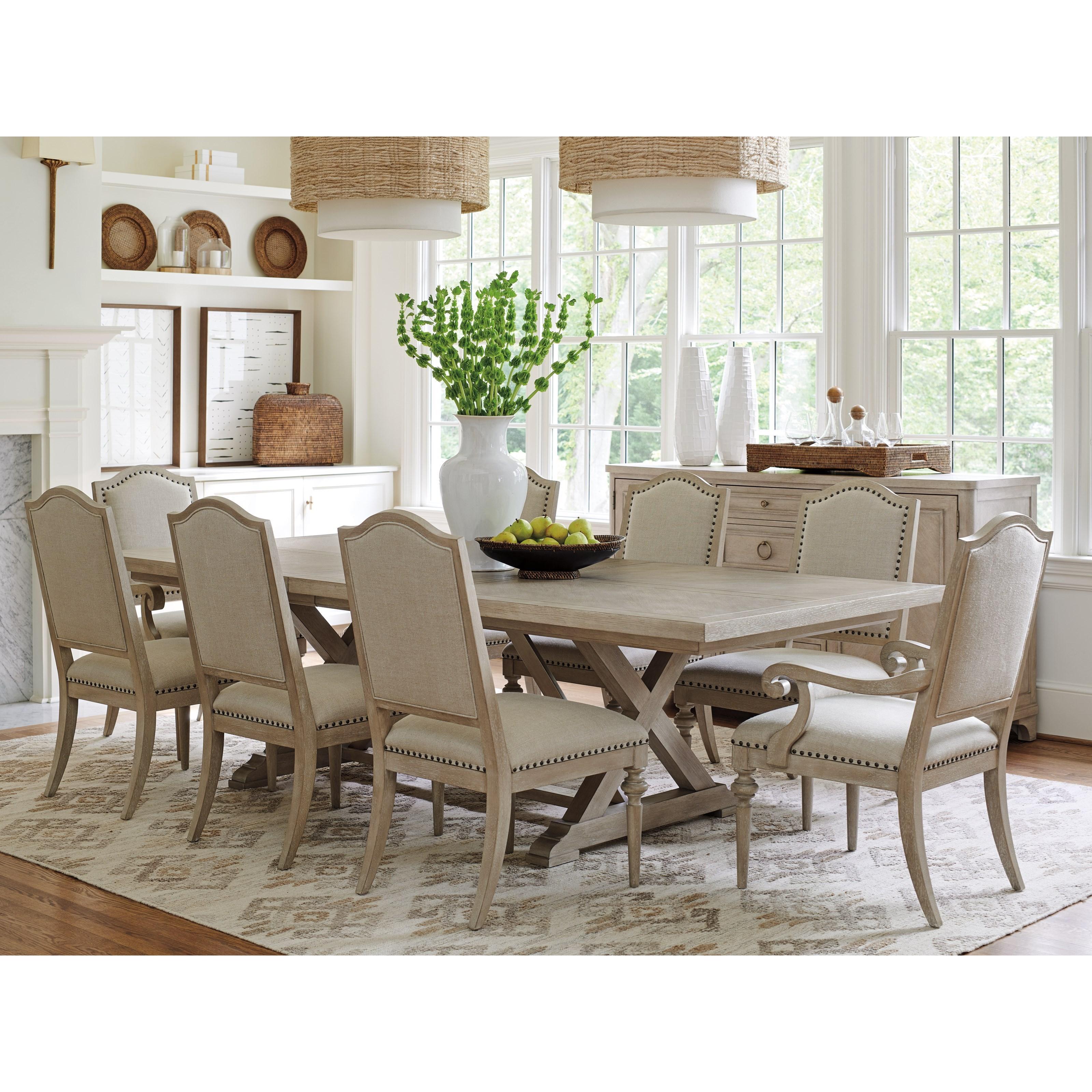 Malibu Formal Dining Group by Barclay Butera at Baer's Furniture