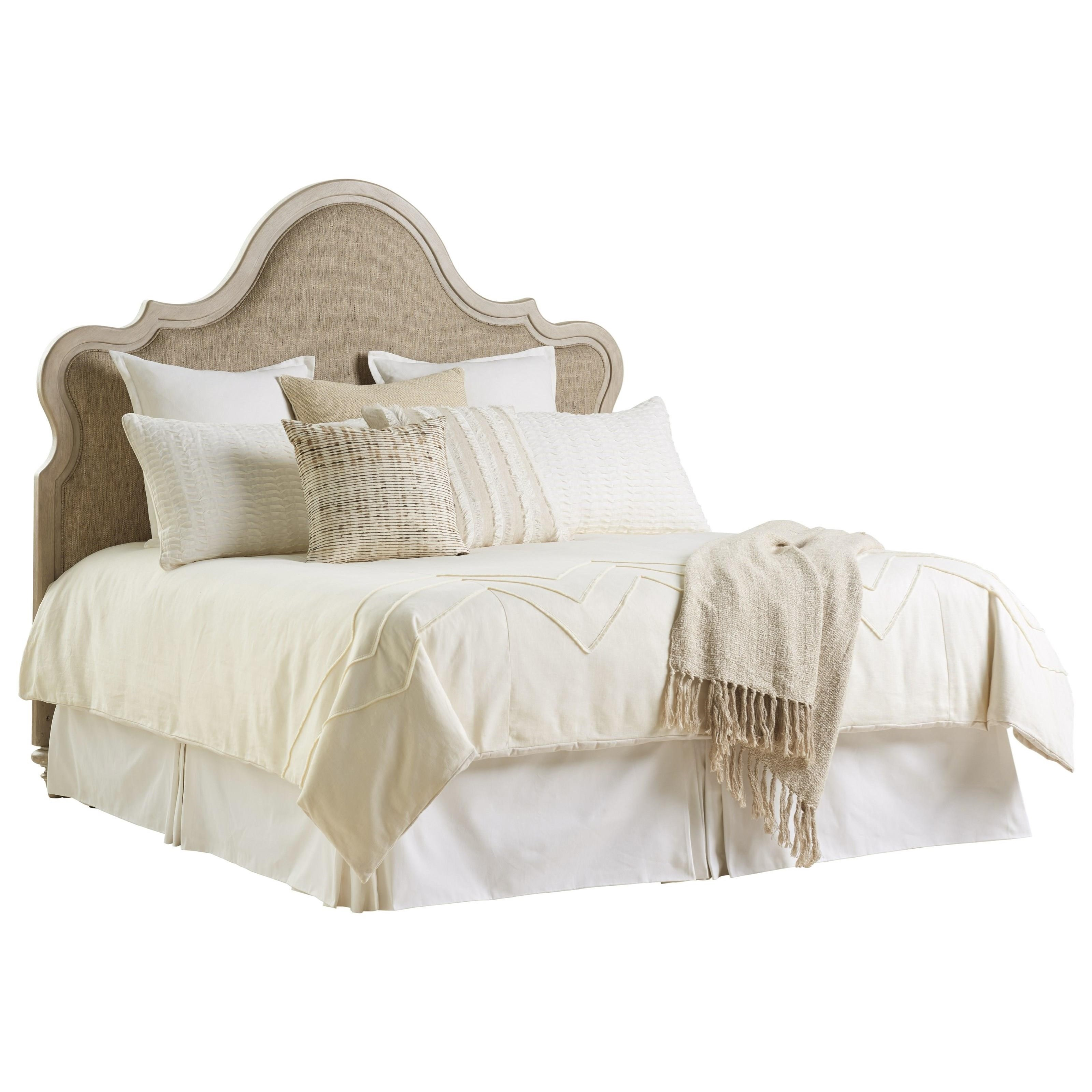 Malibu Zuma Upholstered Headboard by Barclay Butera at Baer's Furniture