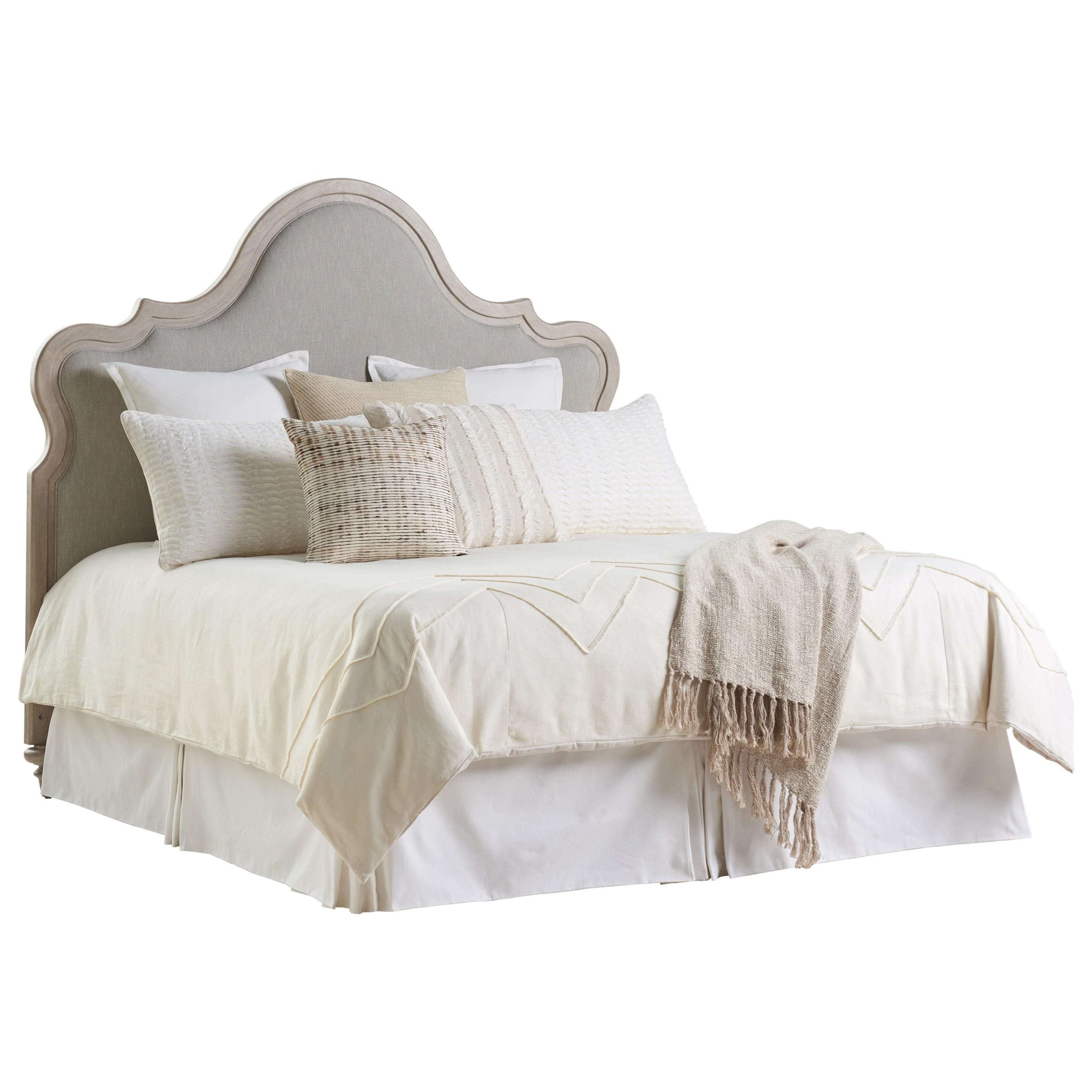Malibu Zuma Upholstered Headboard King by Barclay Butera at Baer's Furniture
