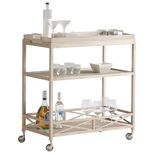 Anacapa Metal Bar Cart