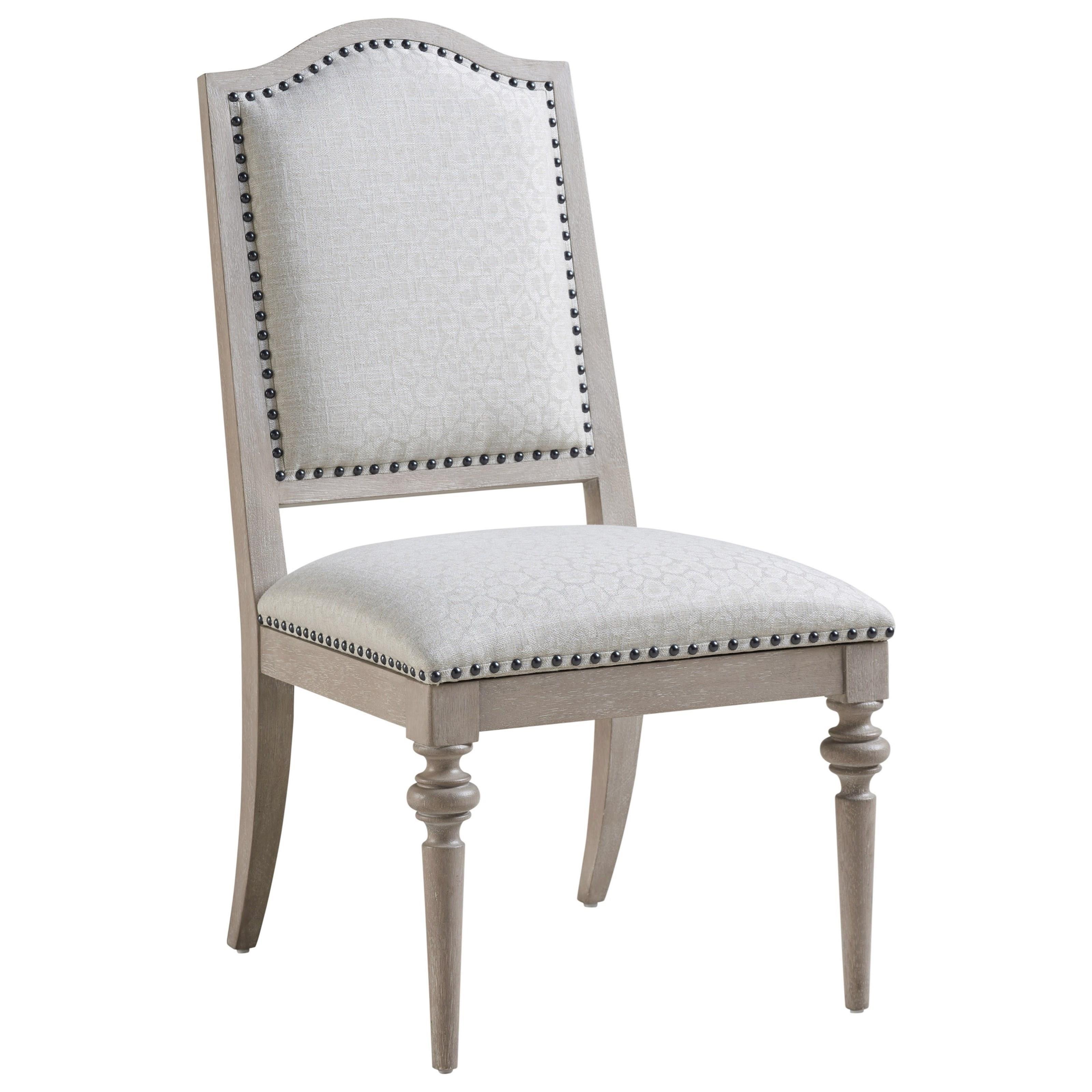 Malibu Aidan Upholstered Side Chair by Barclay Butera at Baer's Furniture