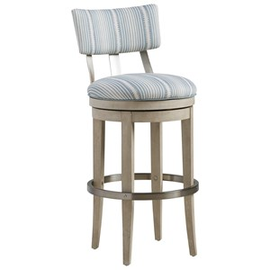 Cliffside Swivel Upholstered Bar Stool