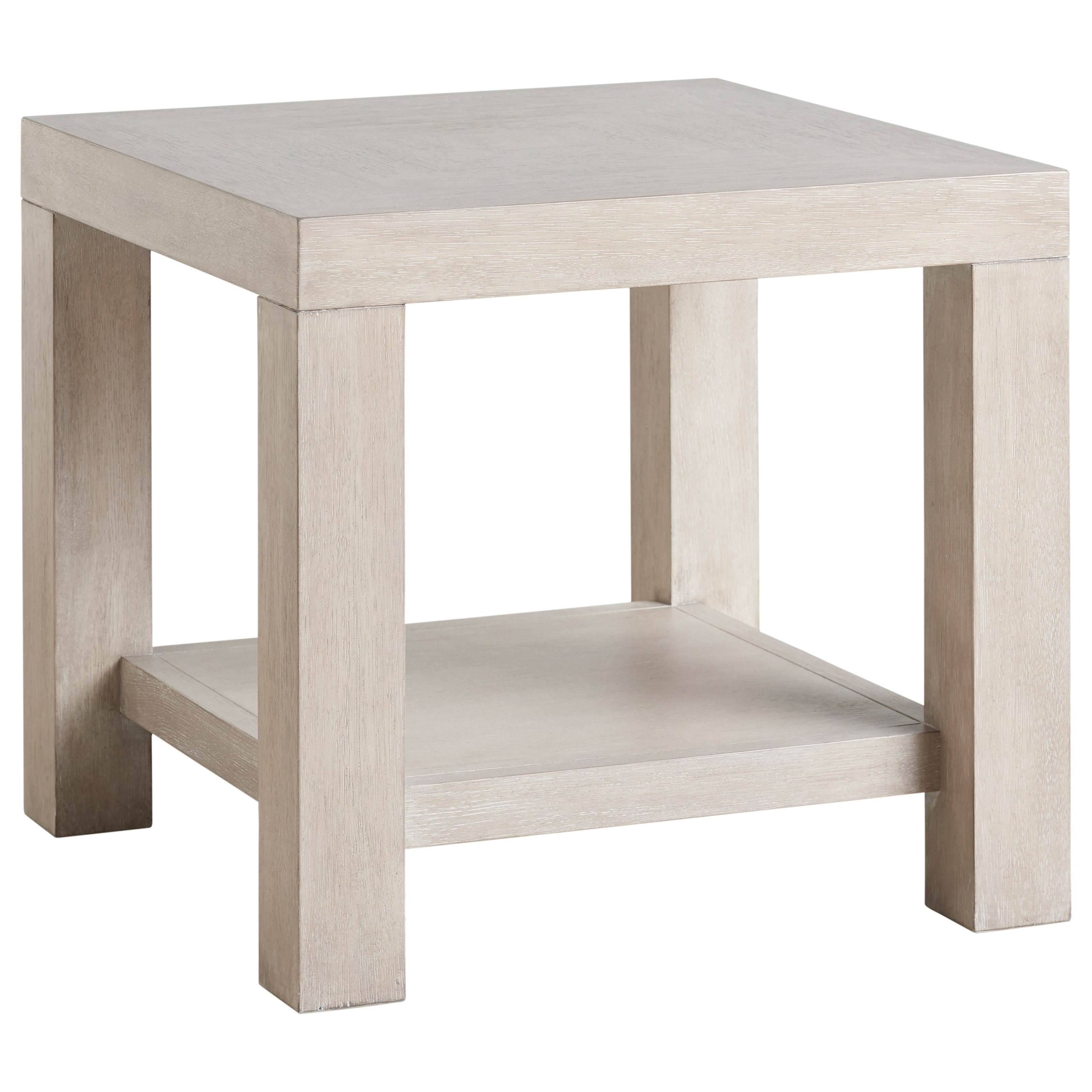 Malibu Surfrider End Table by Barclay Butera at Baer's Furniture