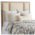 Barclay Butera Newport Crystal Cove Upholstered Panel Headboard 5/0 - Item Number: 920-133HB