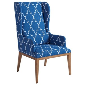 Barclay Butera Newport Seacliff Host Wing Chair