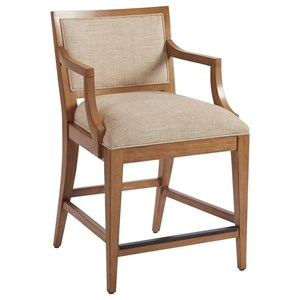 Barclay Butera Newport Eastbluff Counter Stool (married)