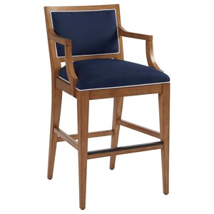 Barclay Butera Newport Eastbluff Bar Stool