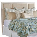 Barclay Butera Newport Crystal Cove Upholstered Panel Headboard 6/0 - Item Number: 921-135HB