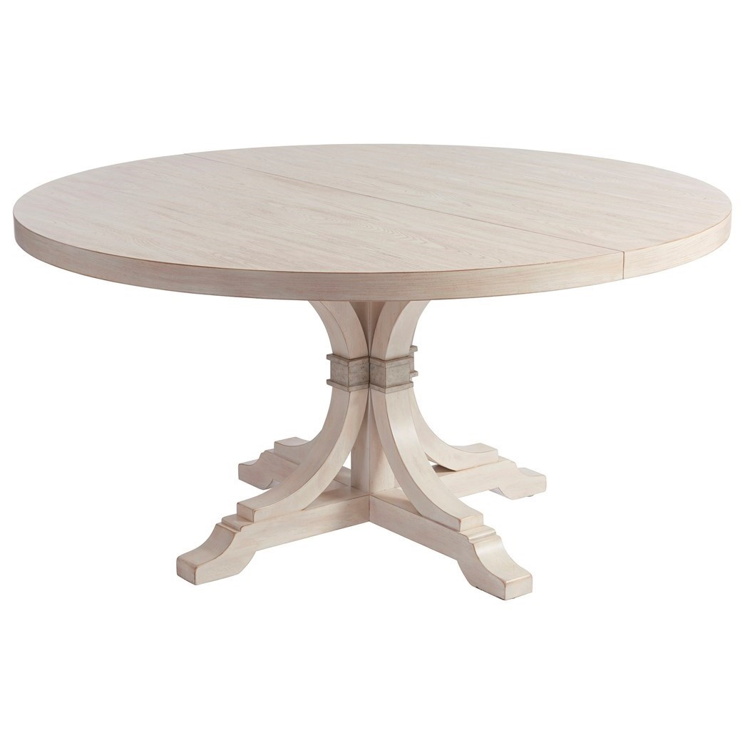 Newport Magnolia Round Dining Table by Barclay Butera at Baer's Furniture