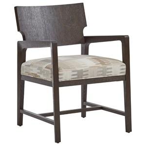 Highland Customizable Dining Arm Chair