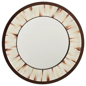 Academy Round Mirror