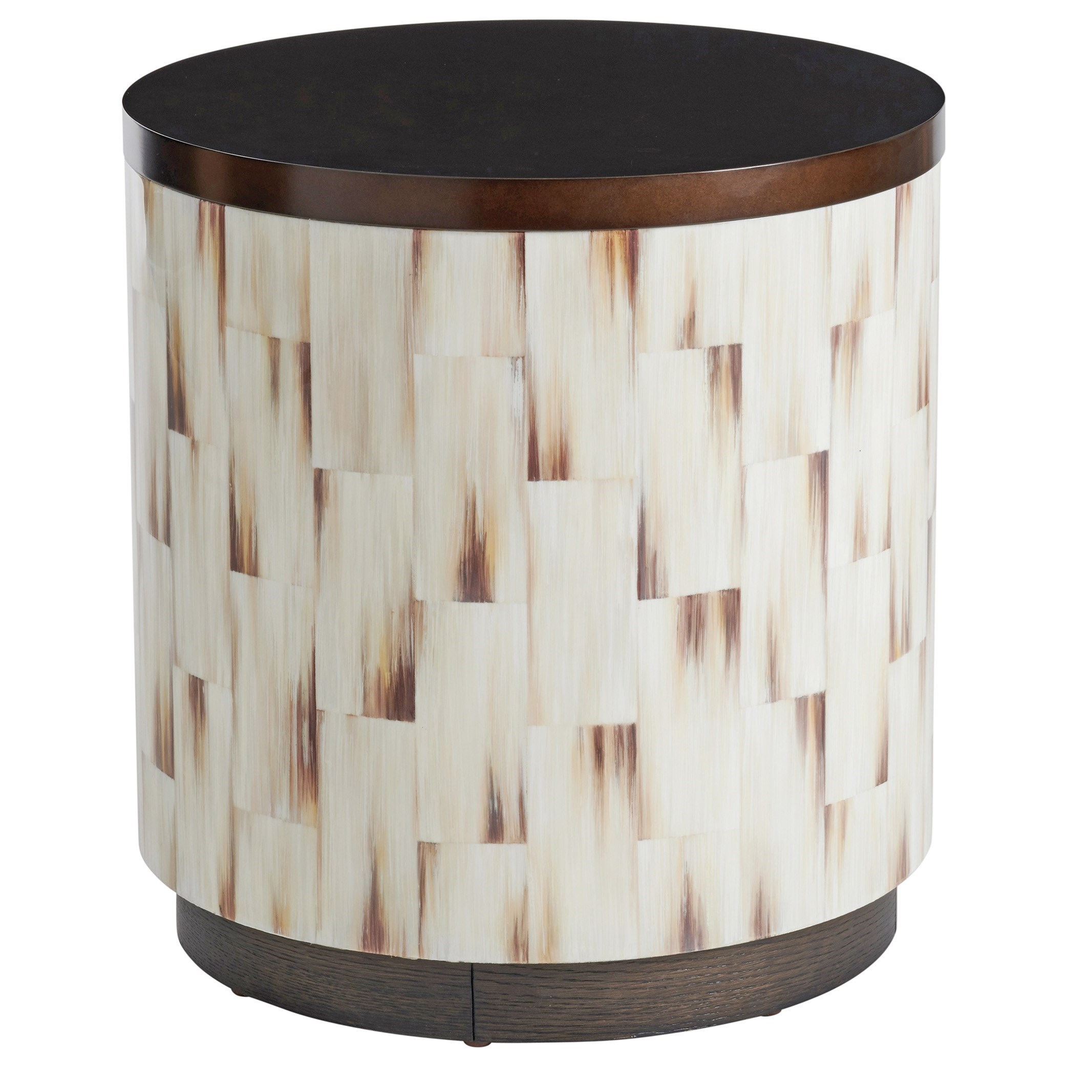 Park City Crescent Commode End Table by Barclay Butera at Baer's Furniture