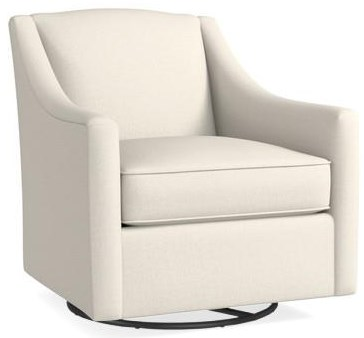 1045 Swivel Chair by Bassett at Johnny Janosik