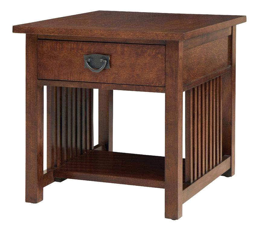 Bassett Grove Park Mission Style End Table - Item Number: 6232-0665