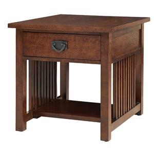 Bassett Grove Park Mission Style End Table
