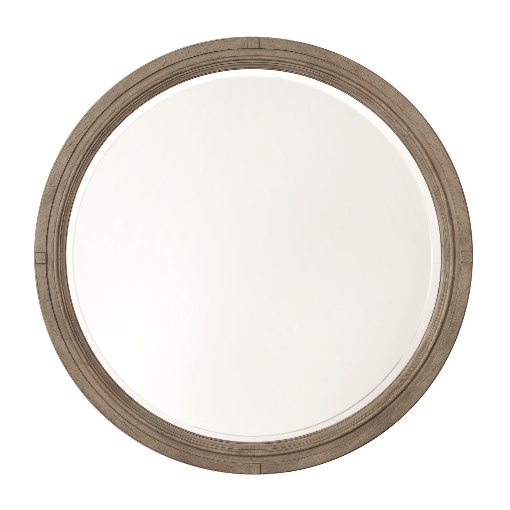 Bassett Bella Round Mirror - Item Number: 2572-0209