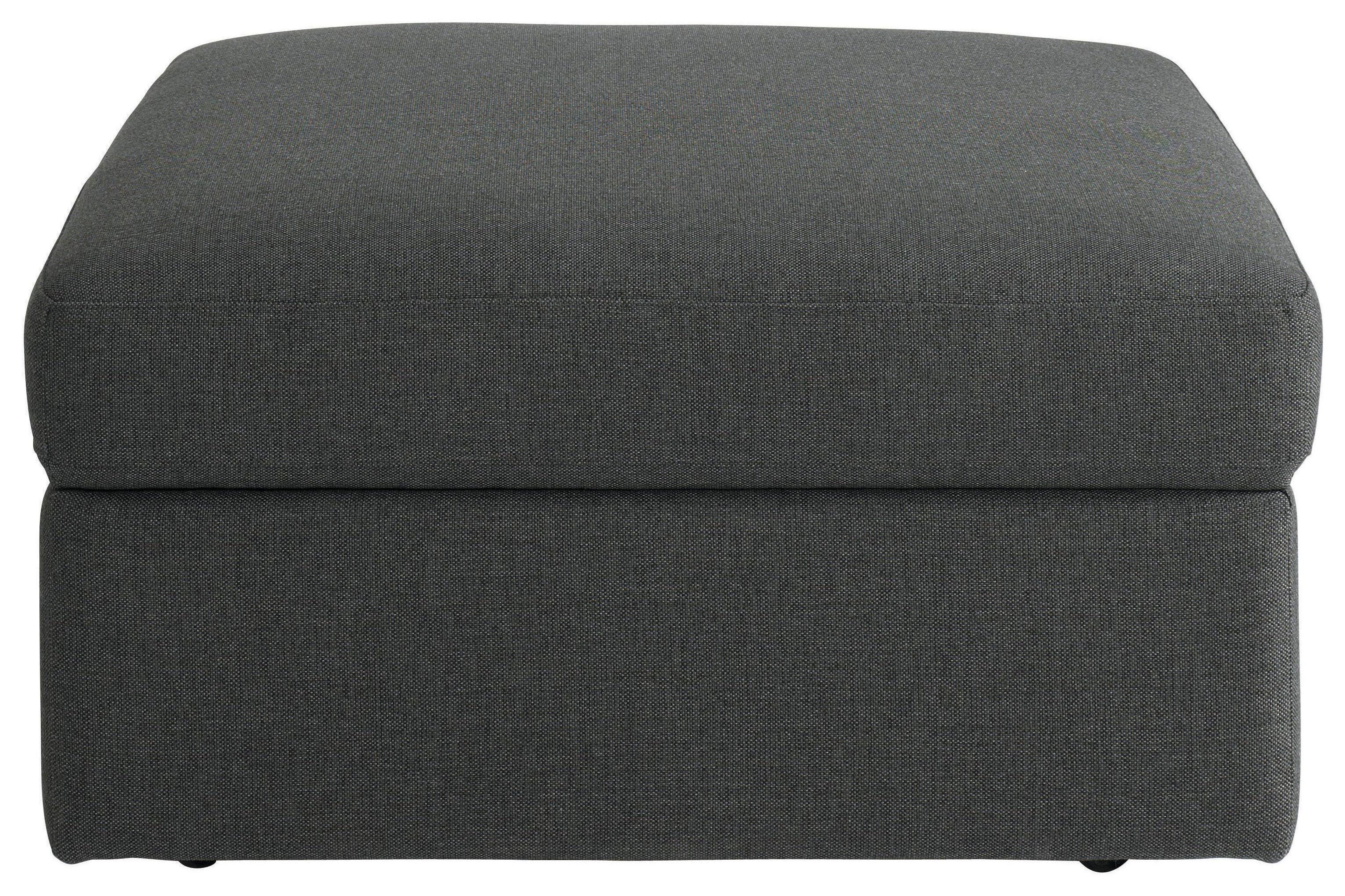 Bassett Beckham Storage Ottoman in Charcoal - Item Number: 2676-S2FC-FC178-9