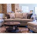 Bassett Madison Sleeper Sofa - Item Number: 2687-7Q 1495-19M 6417-19 6373-19