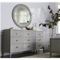 Bassett Savoy Dresser & Round Mirror - Item Number: GRP-2784D-DRM