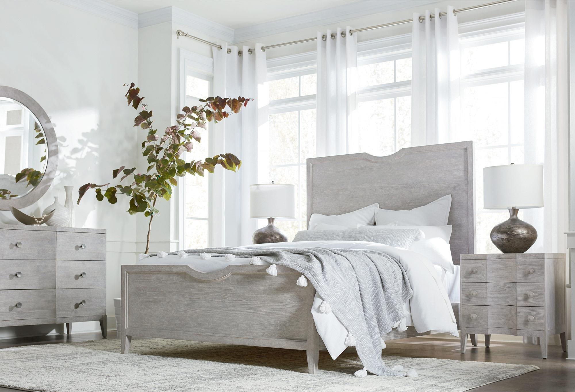 Queen Bed, Dresser, Mirror & Nightstand