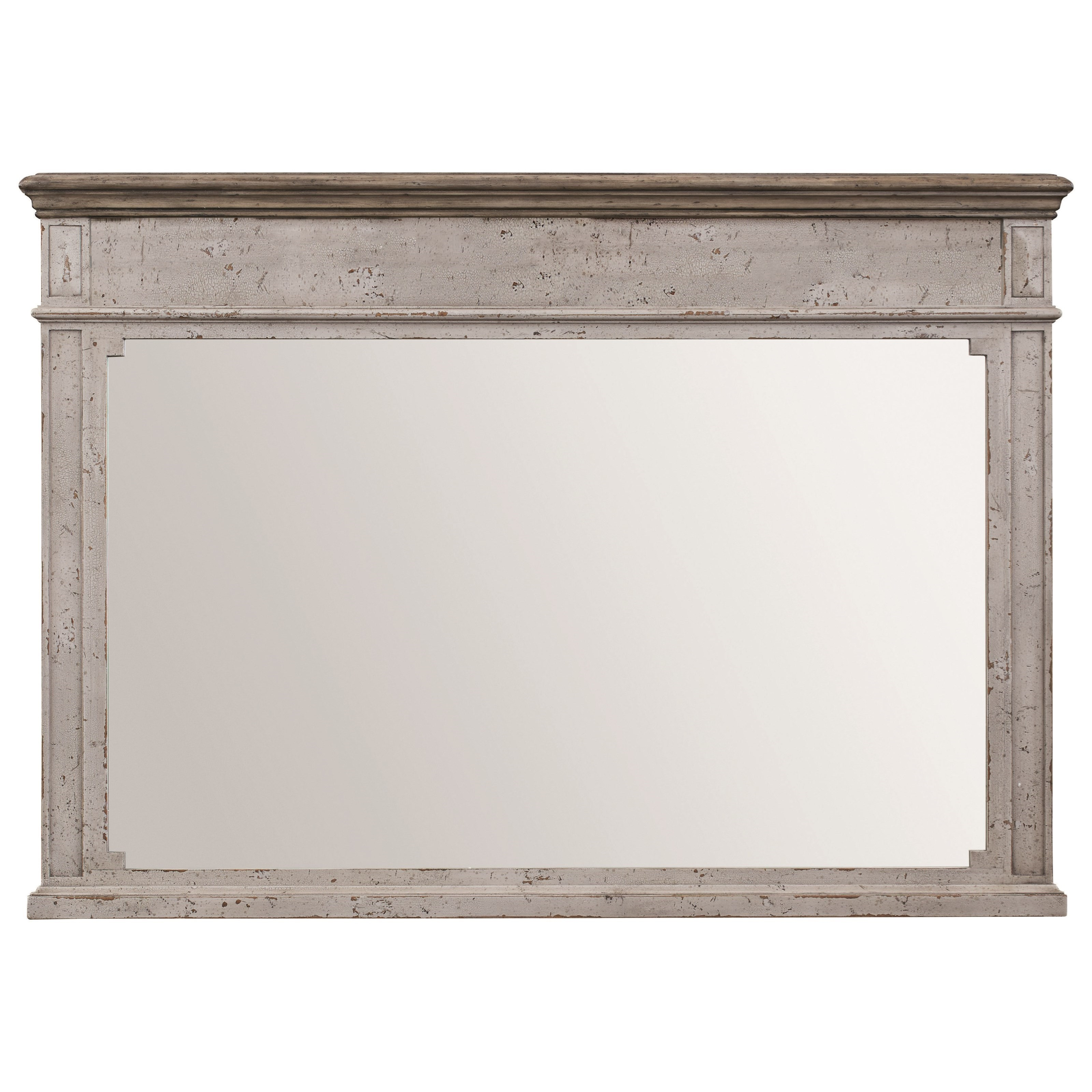 Verona Mirror by Bassett at Fisher Home Furnishings