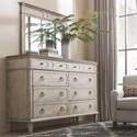 Bassett Verona Dresser Mirror with Molding