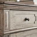 Bassett Verona Rustic Chest with Felt and Cedar Lined Drawers