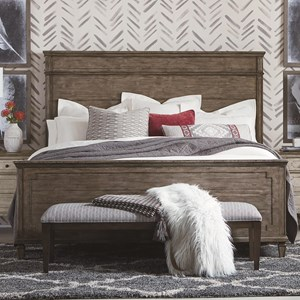 Bassett Verona California King Panel Bed