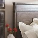 Bassett Verona Rustic King Panel Bed
