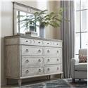 Bassett Verona Dresser & Mirror - Item Number: GRP-2834D-DRM