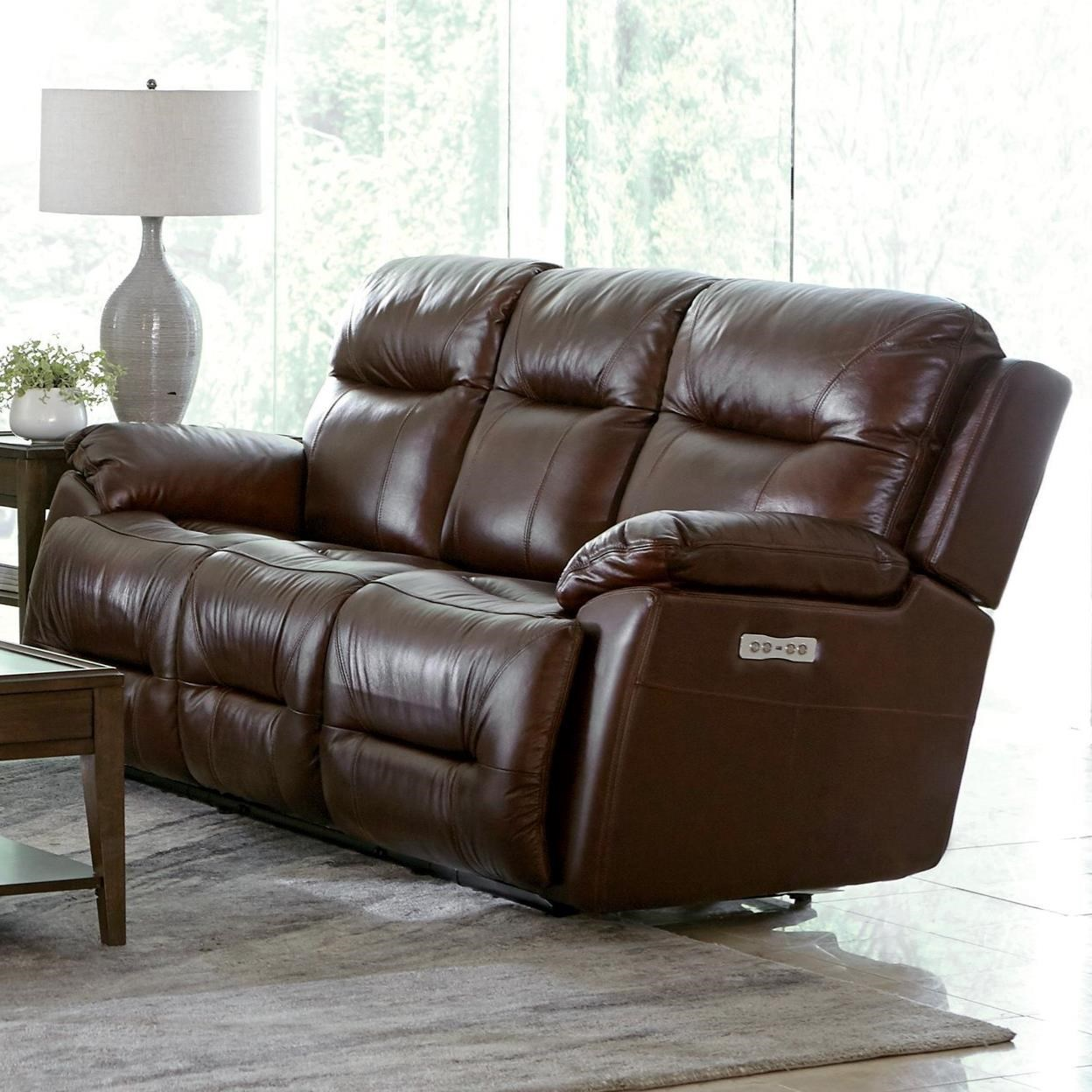 Power Reclining Lay-Flat Sofa