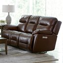 Bassett Epic Power Reclining Lay-Flat Sofa - Item Number: 3705-P62C