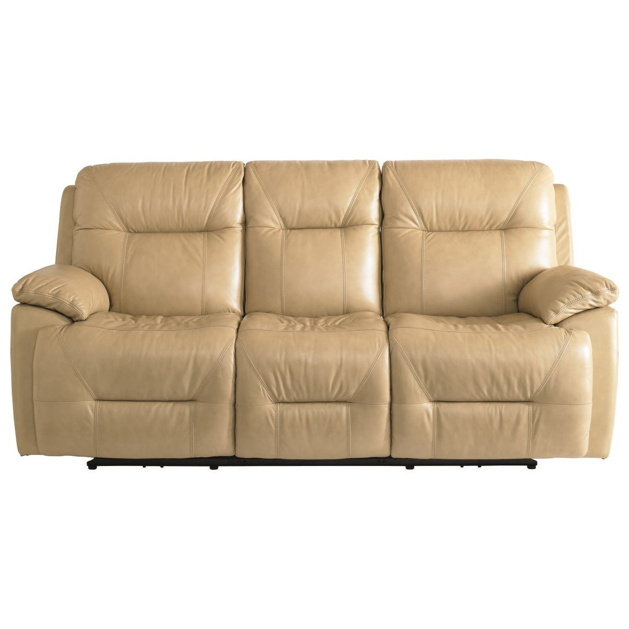 Bassett Epic Power Reclining Lay-Flat Sofa - Item Number: 3705-P62S