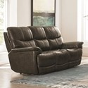 Bassett Brookville Power Reclining Sofa - Item Number: 3713-P62T