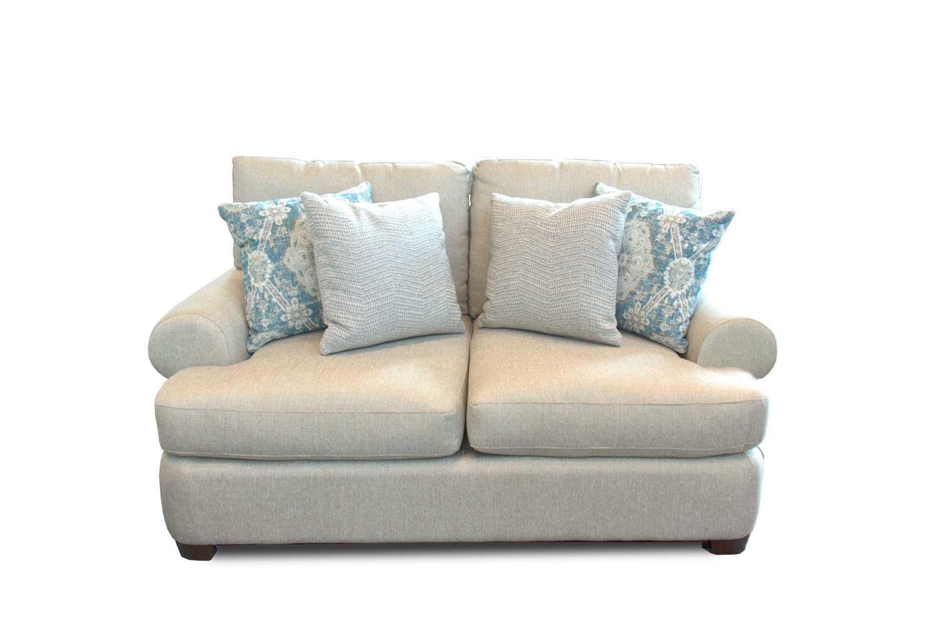 Bassett Monterey Loveseat Great American Home Store Love Seats