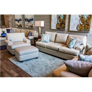 Bassett Monterey Monterey Sofa, Chair, & Ottoman