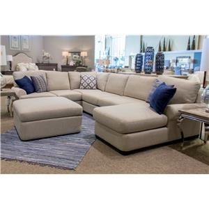 Bassett Monterey 3 Pc. Sectional Sofa