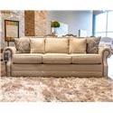 Bassett Hubbard Sofa Sleeper - Item Number: 3902--6QH 1474-2 5143-19 OBNAIL